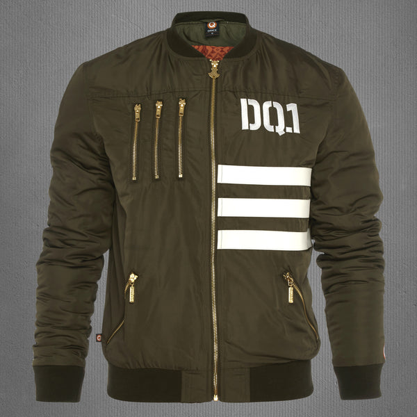 Defqon.1 deluxe limited edition bomber jacket army green, women