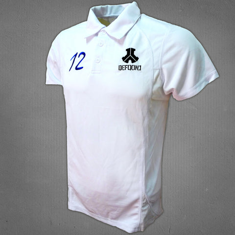 Defqon.1 polo white, men