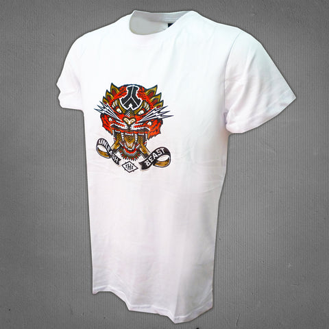 Defqon.1 2014 line-up t-shirt white, men