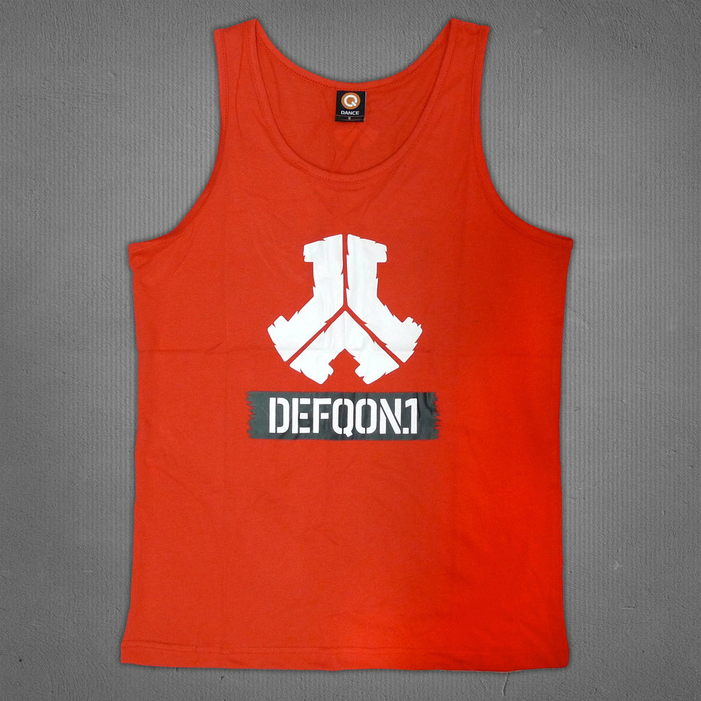 Defqon.1 tank red, men