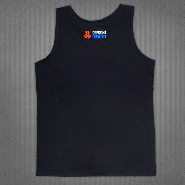 Defqon.1 tank black, men