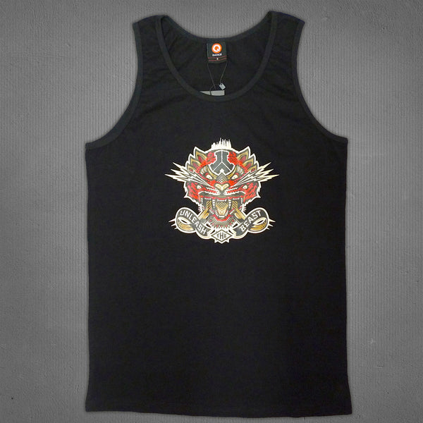 Defqon.1 beast tank black, men