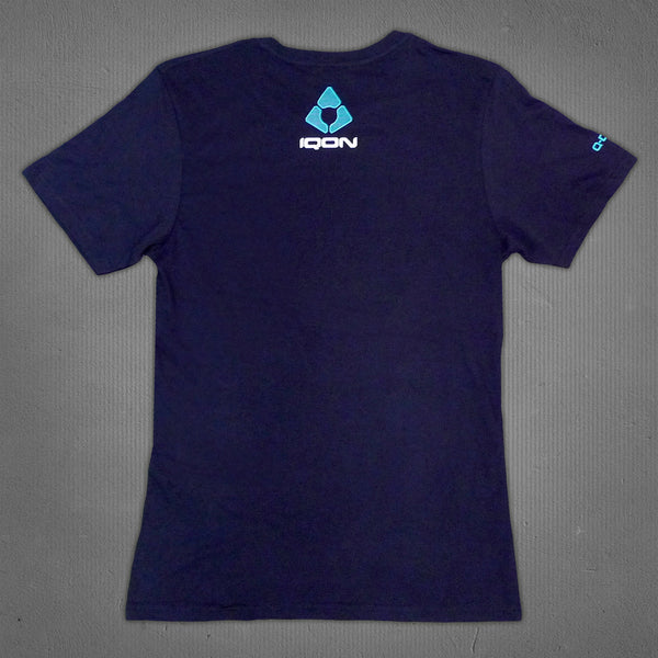 IQON t-shirt navy, men