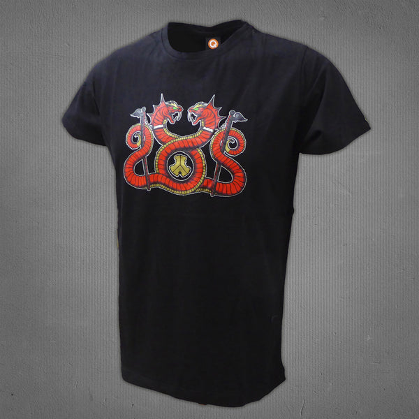 Defqon.1 RED stage t-shirt black, men