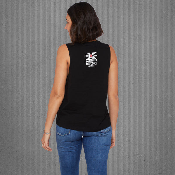 Defqon.1 10-year anniversary tank top, women