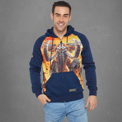 Defqon.1 Mammoth zip-up hoodie, men