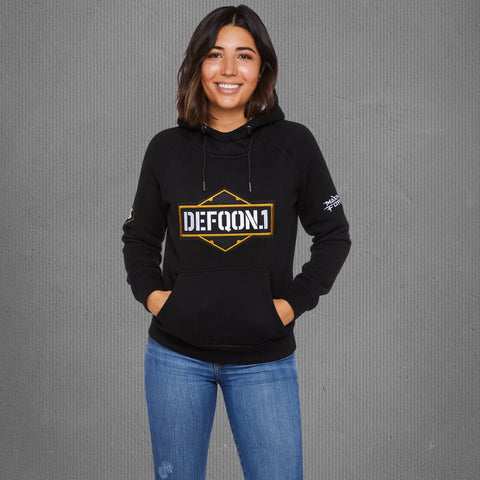 Defqon.1 Maximum Force hooded sweater, women
