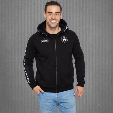 Defqon.1 Maximum Force zip-up hoodie, men