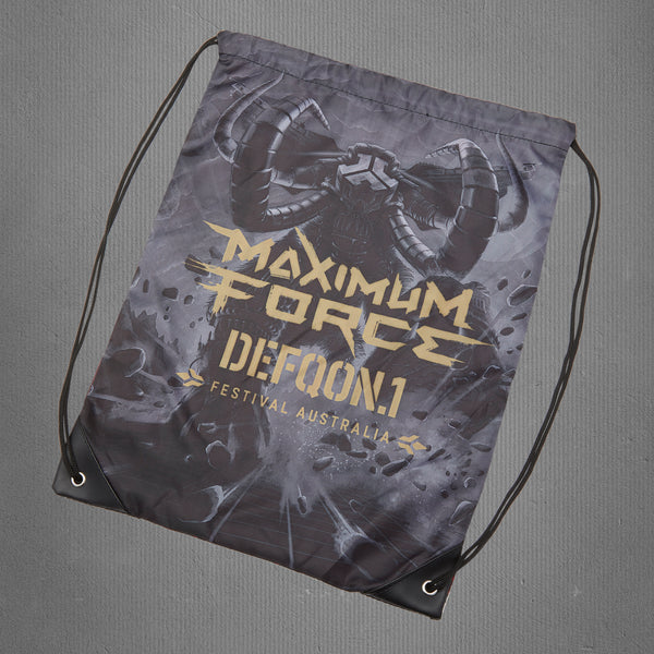 Defqon.1 drawstring bag, maximum force