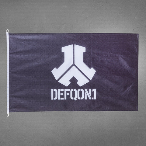 Defqon.1 flag, black