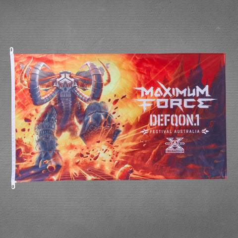 Defqon.1 flag, maximum force