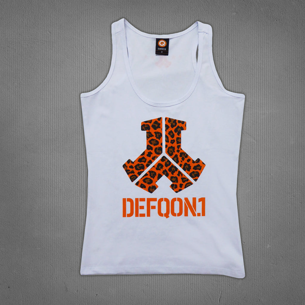 Defqon.1 tank top white, women