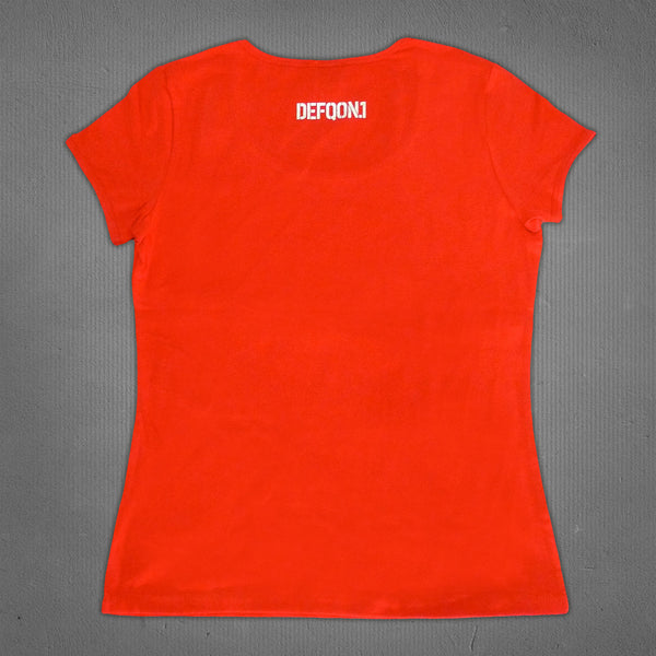 Defqon.1 true rebel freedom t-shirt red, women