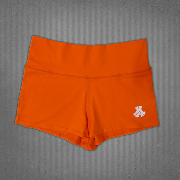 Defqon.1 hot pants neon orange, women