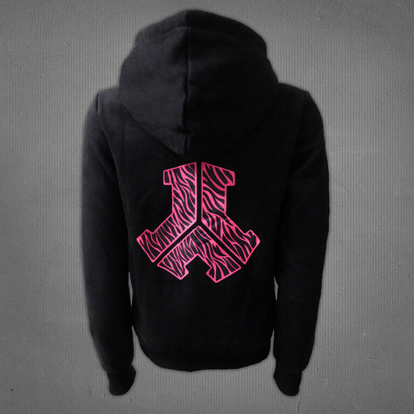 Defqon.1 hooded sweater black, women