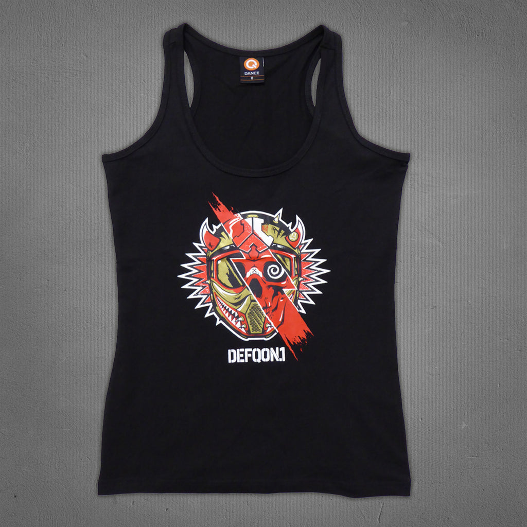 Defqon.1 2015 line-up tank top black, women