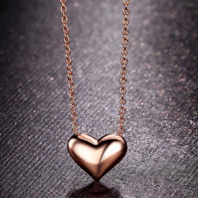 BLOOMING HEART NECKLACE