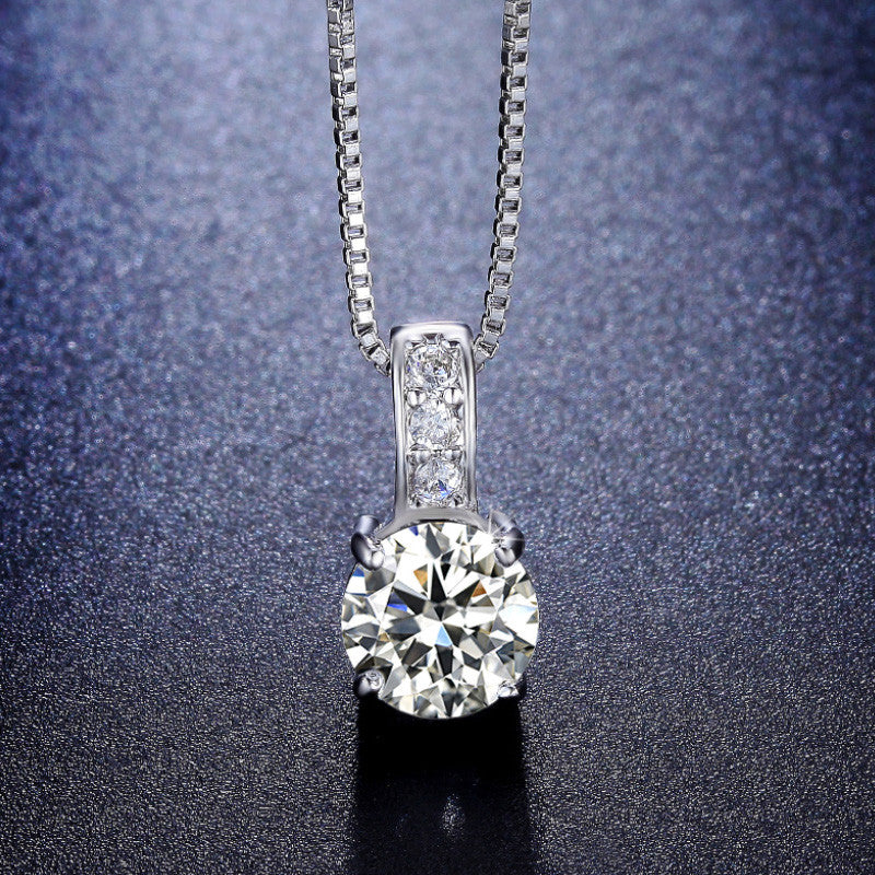 SIMPLY CLASSIC SOLITAIRE NECKLACE