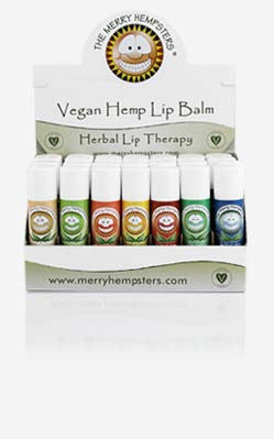 Certified Vegan Hemp Lip Balm (no beeswax)