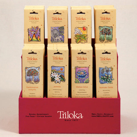 Triloka Incense Display