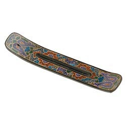 Hand-Painted Wooden Incense Holders