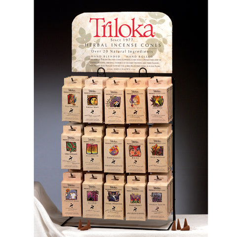 Triloka Incense Cones