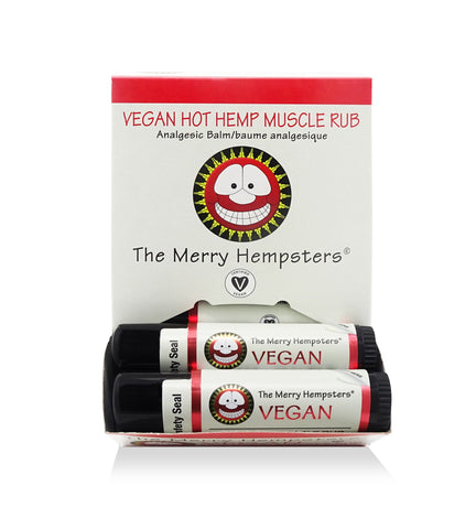 Merry Hempsters Hot Hemp Muscle Rub Stick