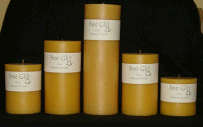 Soul Scents Beeswax Candles - Smooth Pillars