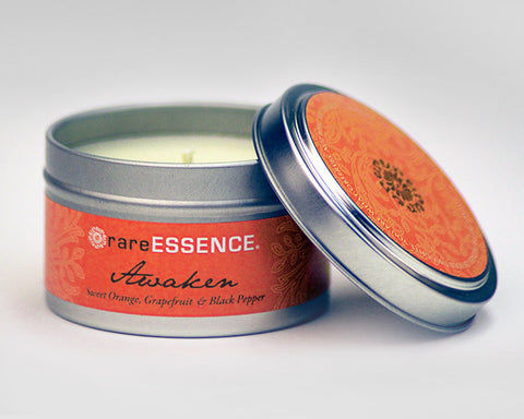 Rare Essence Travel Tin Candles