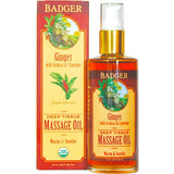 Badger Deep Tissue & Aromatherapy Massage Oils