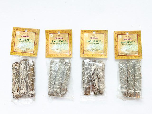Global Shaman Mini Smudge (3 pack)