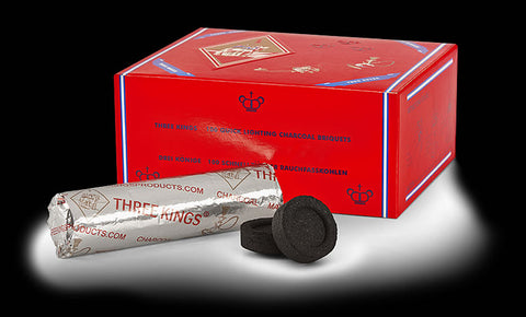 Three Kings Charcoal Tablets