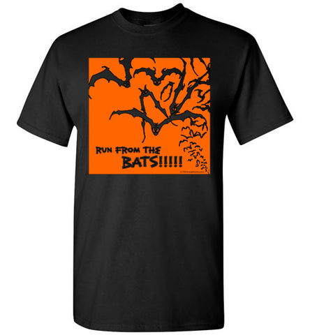 Run from the Bats T-shirt - TShirtLaughFactory.com
