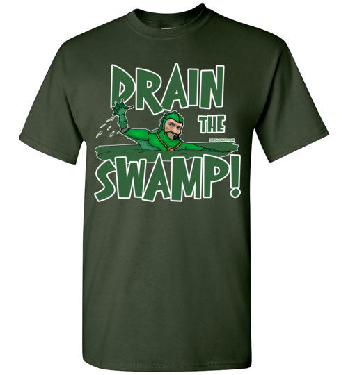Drain The Swamp T-shirt - TShirtLaughFactory.com