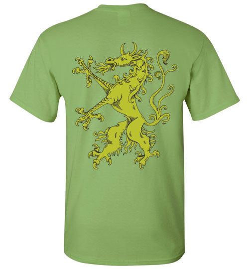 Dancing Dragon T-shirt (Back) - TShirtLaughFactory.com