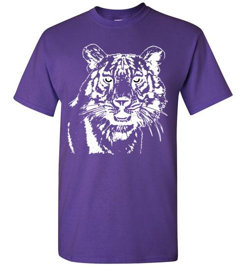 Determined Tiger T-shirt - TShirtLaughFactory.com