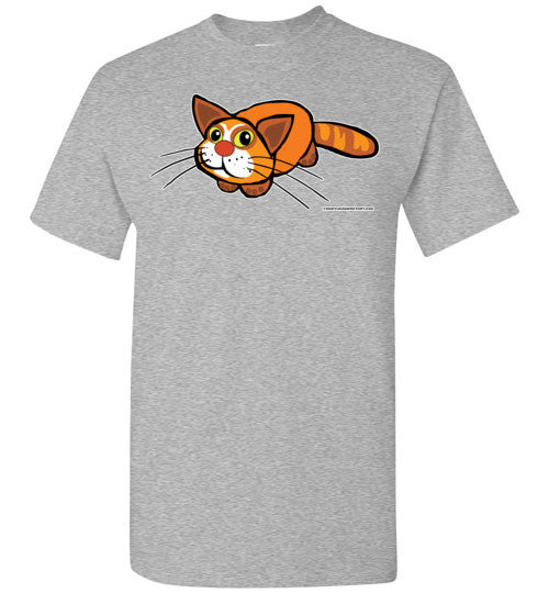 Cute Cat With Big Eyes T-shirt - TShirtLaughFactory.com