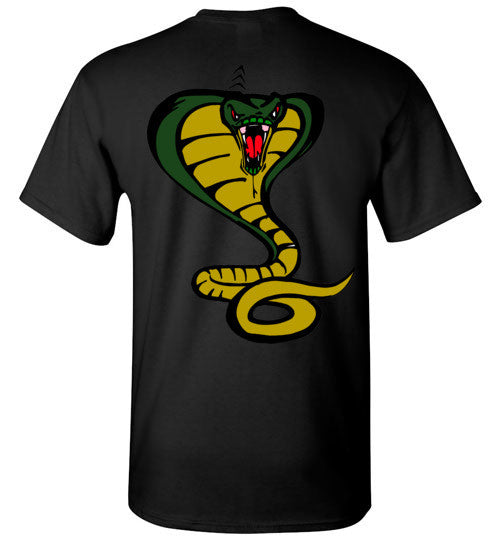 Cobra Snake T-shirt on back - TShirtLaughFactory.com