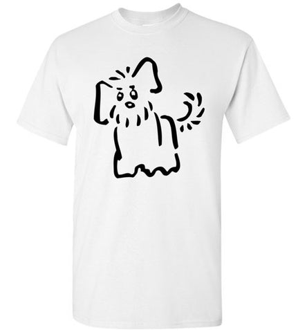 Cute Puppy Looking T-shirt - TShirtLaughFactory.com