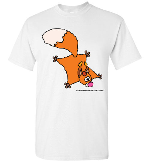 Flying Squirrel T-shirt - TShirtLaughFactory.com