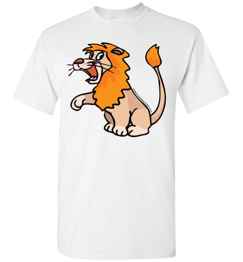 Happy Lion T-shirt - TShirtLaughFactory.com
