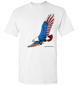 American Eagle Flying T-shirt - TShirtLaughFactory.com