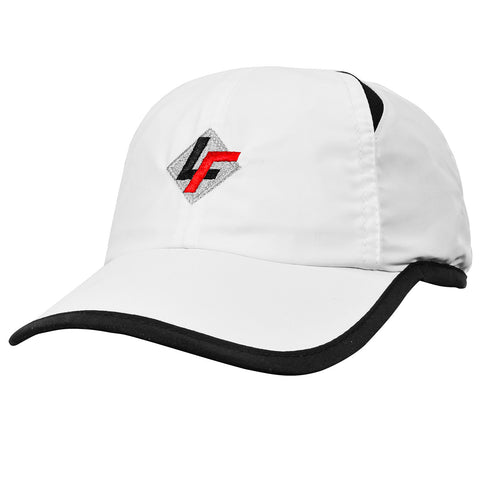 LF Logo Performance Cap- White/Black