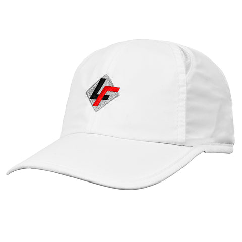 LF Logo Performance Cap- White