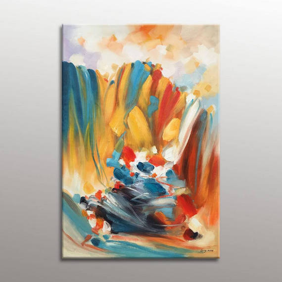 Abstract Oil Paintings