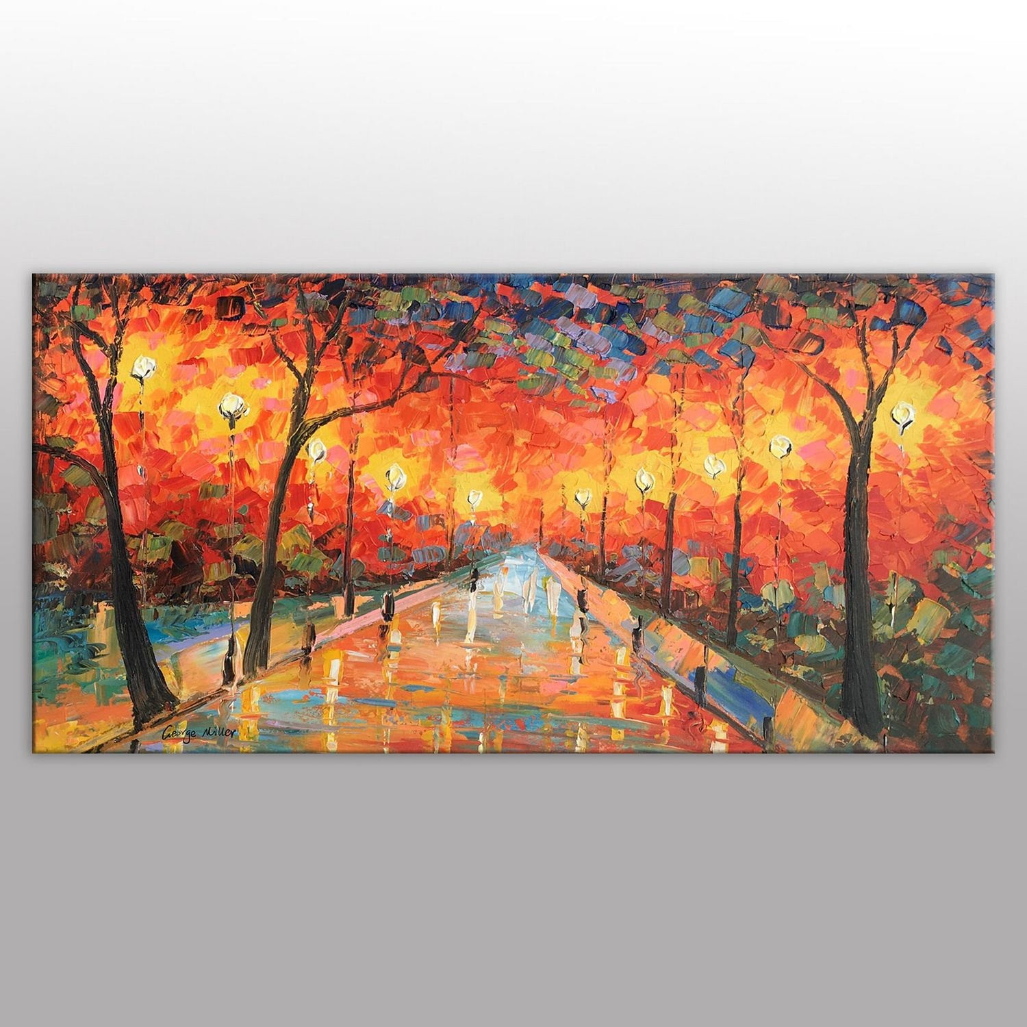 Original Oil Painting, Abstract Canvas Art, Abstract Oil Painting, Large Canvas Painting, Abstract Landscape Painting, Contemporary Wall Art