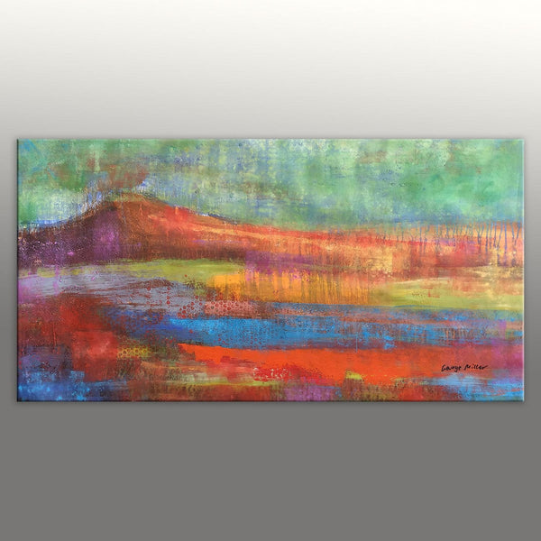 Canvas Art, Canvas Wall Art, Kitchen Decor, Contemporary Art, Oil Painting Abstract, Large Oil Painting, Oil Painting Landscape
