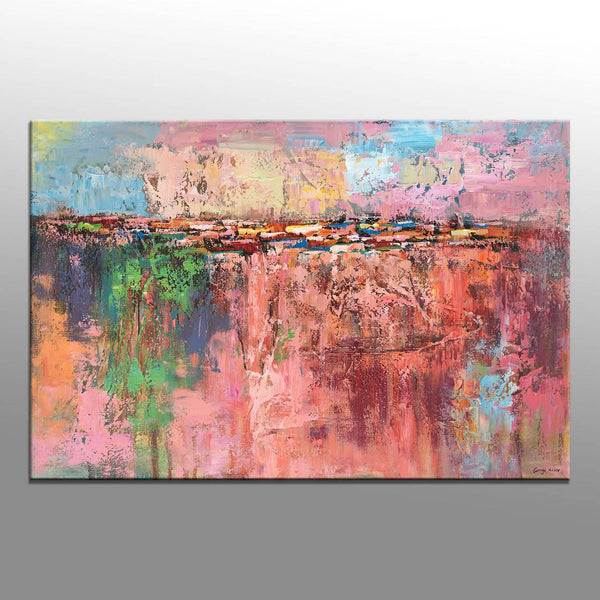 Abstract Painting, Original Abstract Art, Large Painting, Modern Painting, Wall Art, Kitchen Wall Art, Canvas Art, Abstract Oil Painting