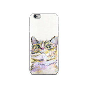 Cat iPhone Case, iPhone 7/7 Plus Case, iPhone 8/8 Plus Case, iPhone 6 Case, iPhone 6s Case, iPhone 6s Plus Case, iPhone X Case
