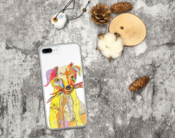iPhone 8/8 Plus Case, Graffiti Dog iPhone Case, iPhone 7/7 Plus Case, iPhone 6 Case, iPhone 6s Case, iPhone 6s Plus Case, iPhone X Case